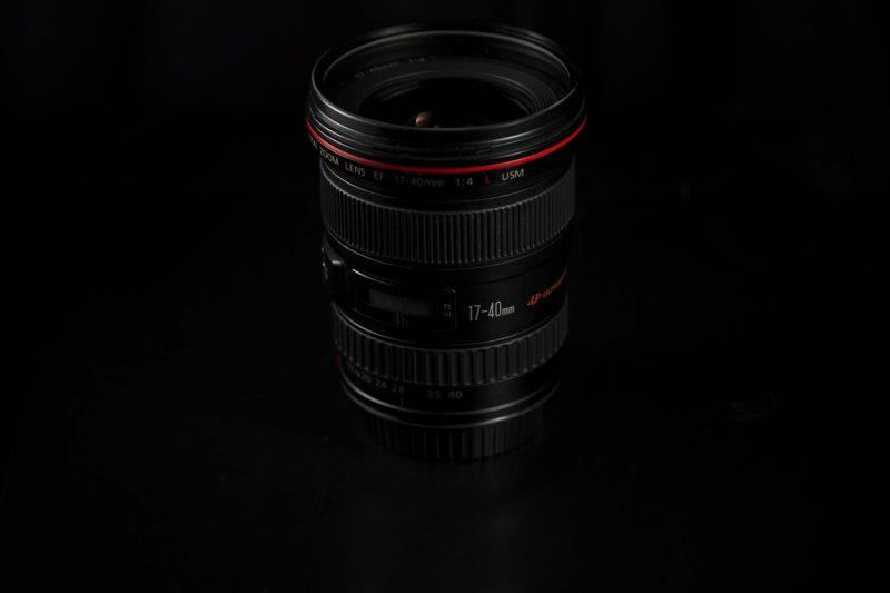 Lens productfoto