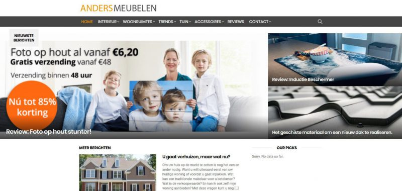 Andersmeubelen screenshot